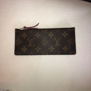 Louis Vuitton Monogram Zippered Pouch